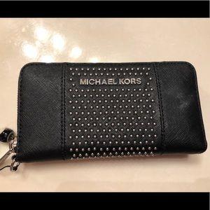 Micheal Kors studded wallet